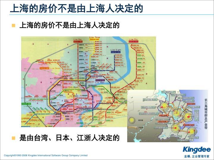 上海的房价不是由上海人决定的