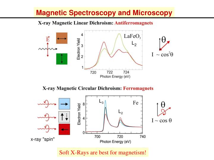 Magnetic Spectroscopy and Microscopy