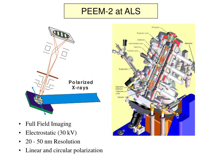 PEEM-2 at ALS