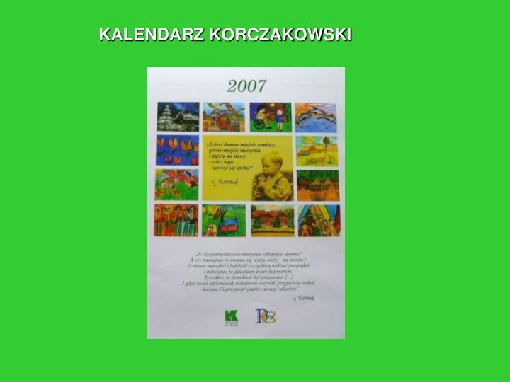 KALENDARZ KORCZAKOWSKI