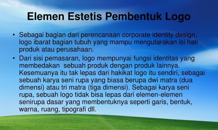 Elemen Estetis Pembentuk Logo