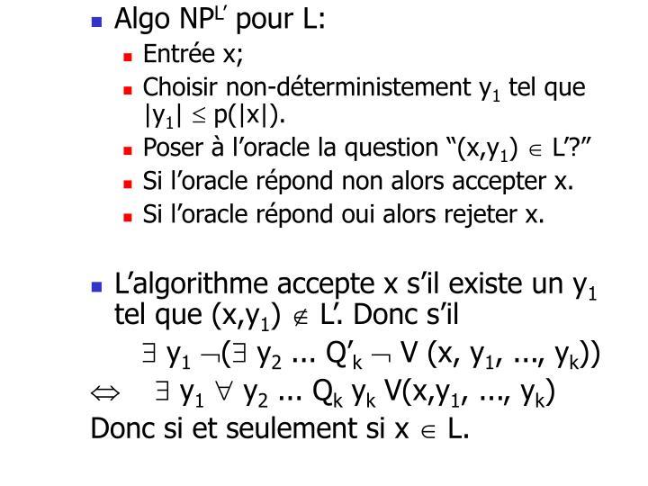 Algo NP