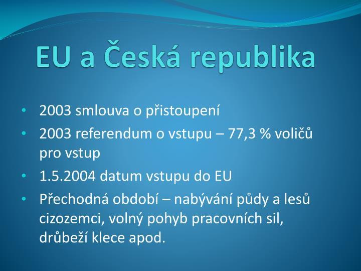 EU a Česká republika