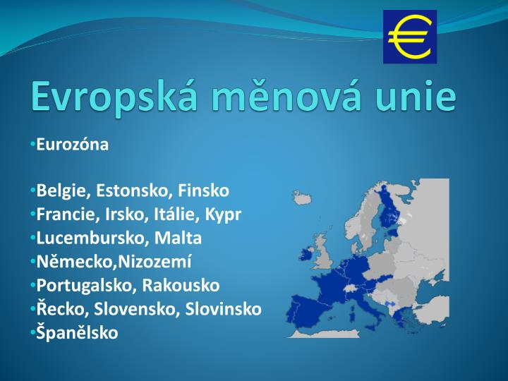 Evropská měnová unie