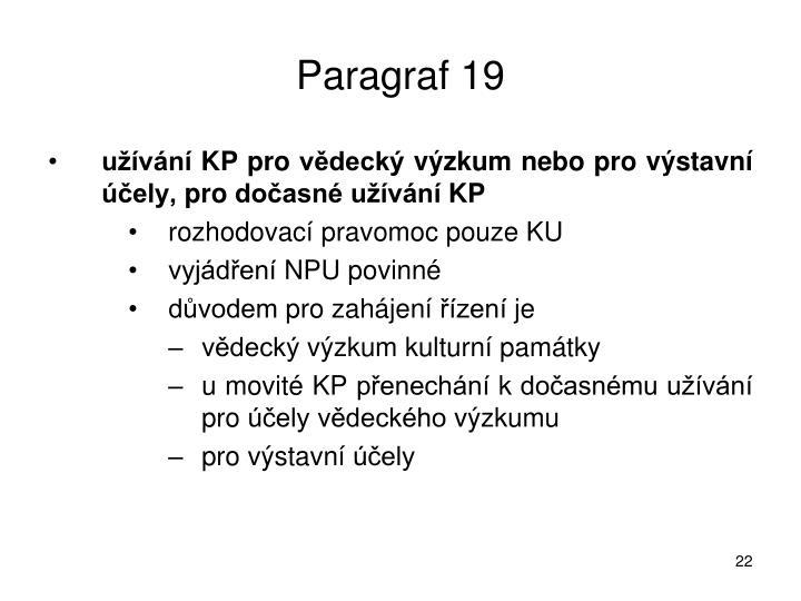 Paragraf 19