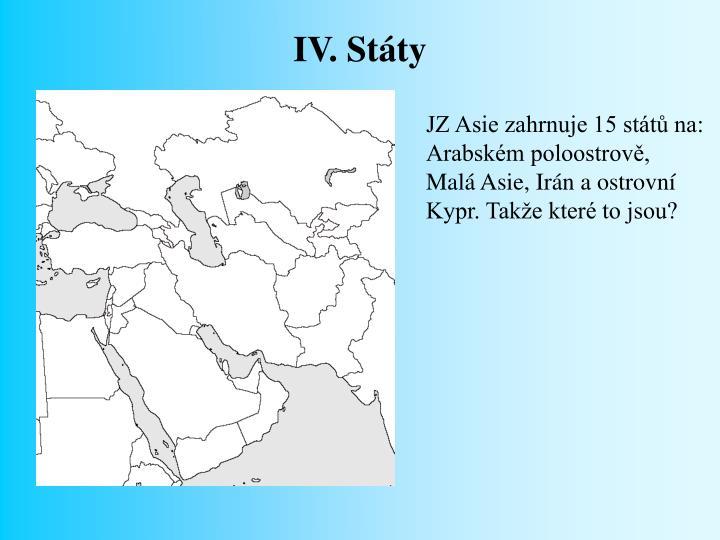 IV. Státy