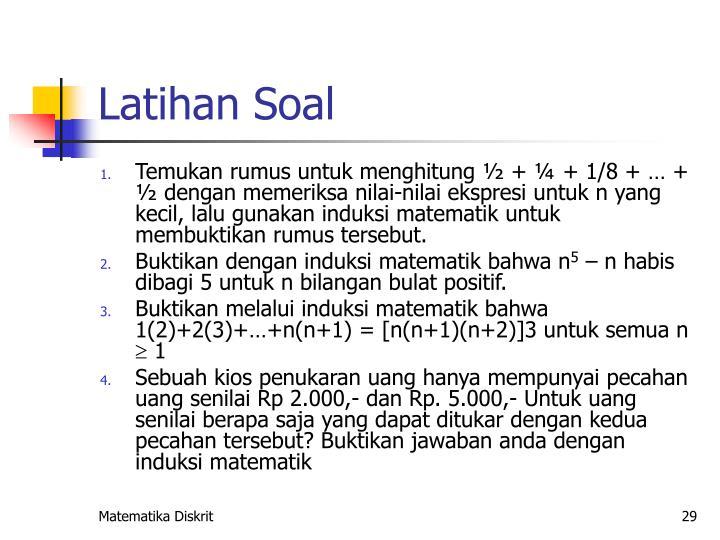PPT - Induksi Matematika PowerPoint Presentation - ID:4714757