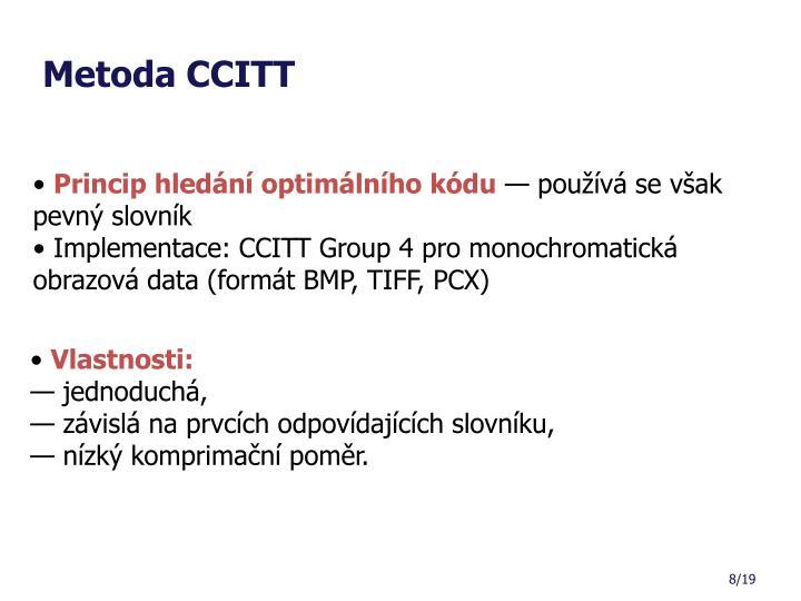 Metoda CCITT