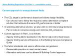 current approach to energy demand limits