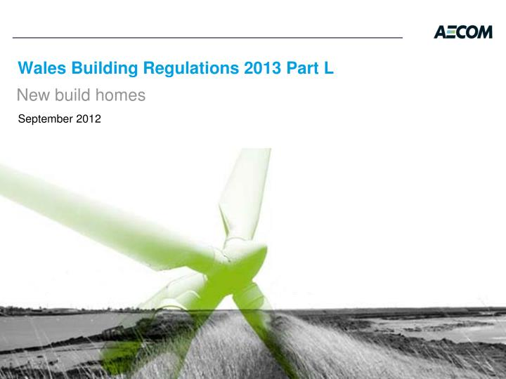 Wales building regulations 2013 part l