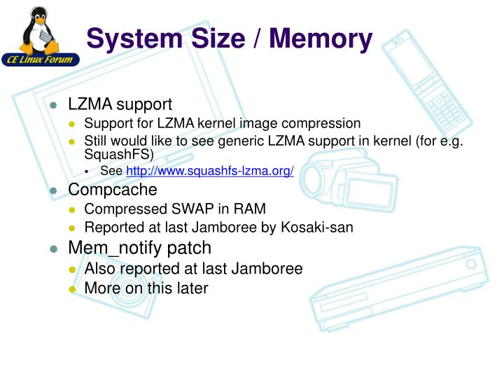 System Size / Memory