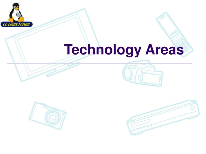 Technology Areas