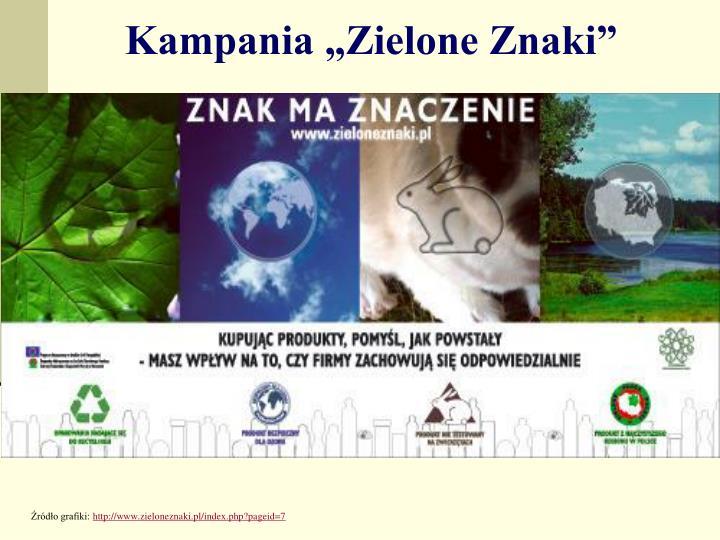 """Kampania """"Zielone Znaki"""""""