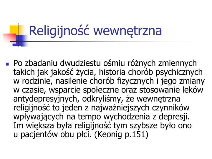 Religijność wewnętrzna