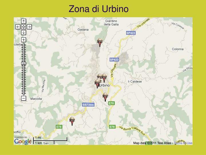 Zona di Urbino