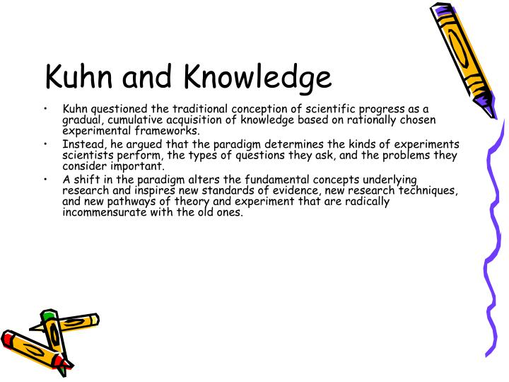 Kuhn and Knowledge