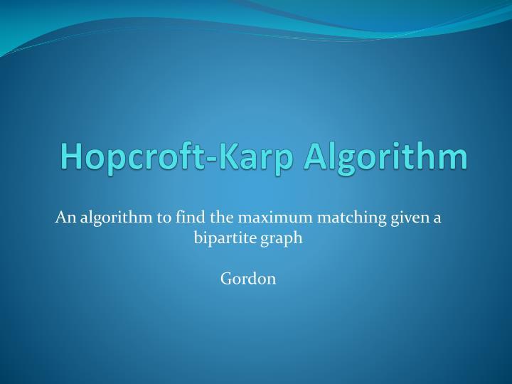 Hopcroft