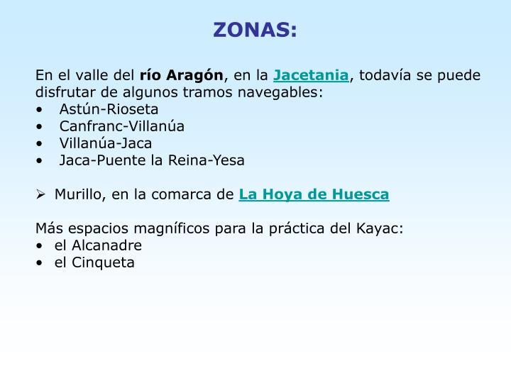 ZONAS: