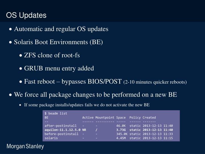 OS Updates