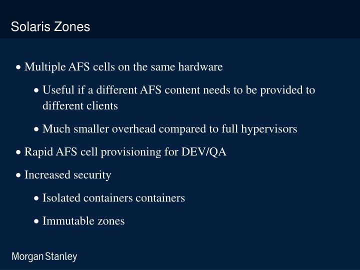 Solaris Zones