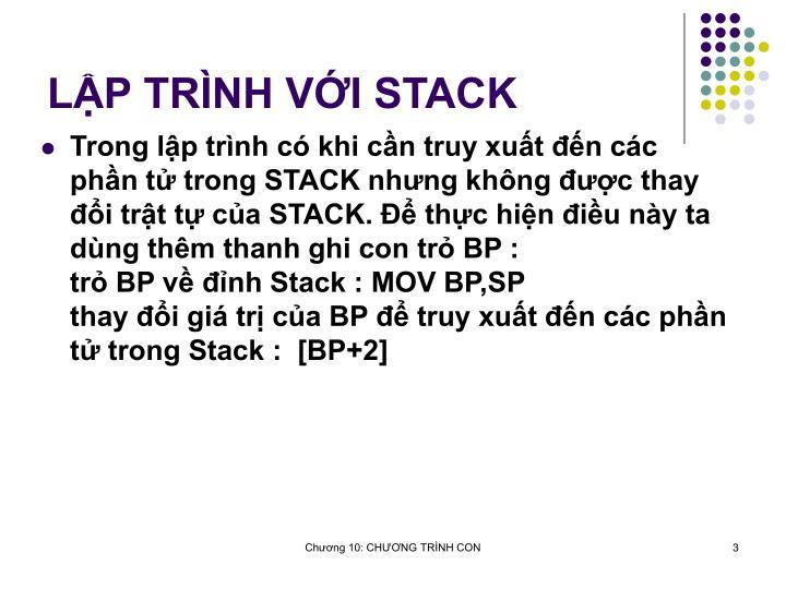 LP TRNH VI STACK