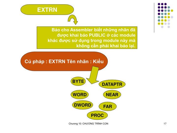 EXTRN