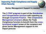 improving trade compliance and supply chain security1