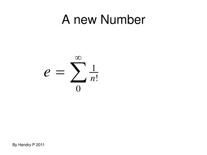 A new Number