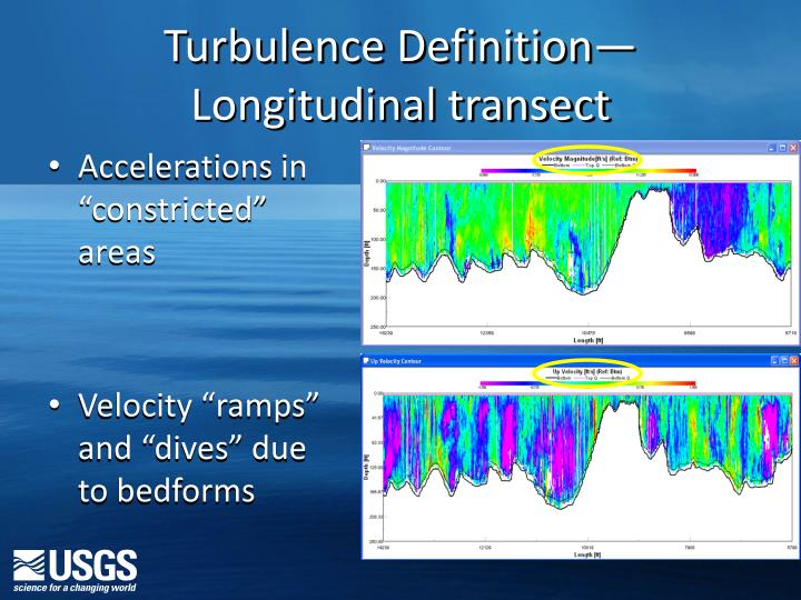 Turbulence Definition—Longitudinal transect