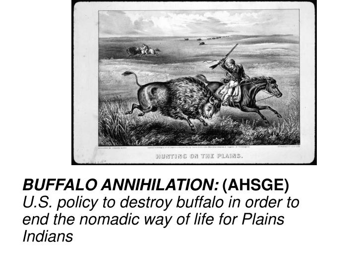 BUFFALO ANNIHILATION: