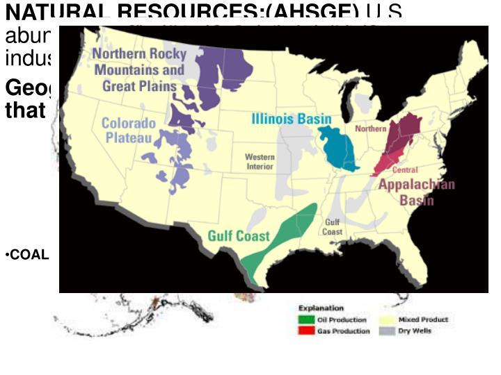 NATURAL RESOURCES:(AHSGE)