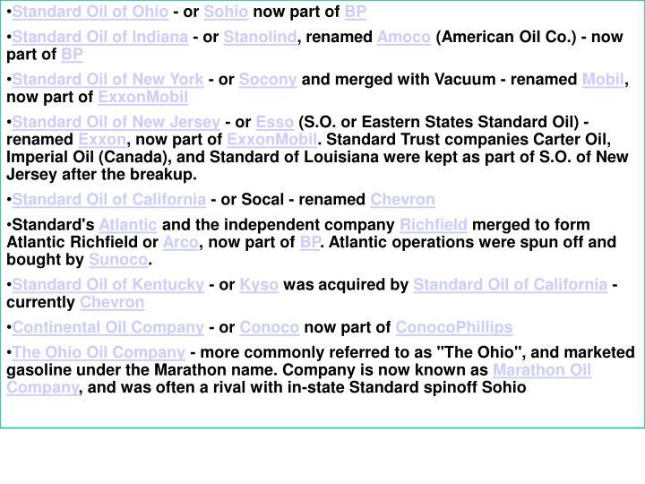 Standard Oil of Ohio