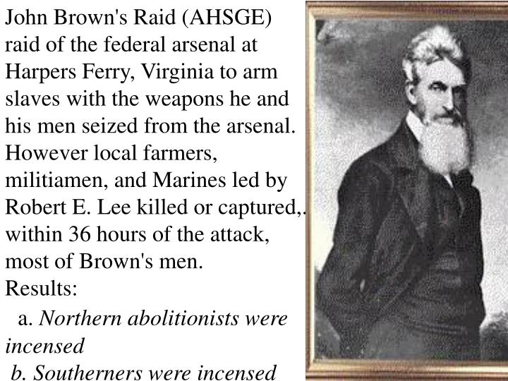 John Brown's Raid (AHSGE)