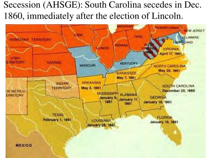 Secession (AHSGE):