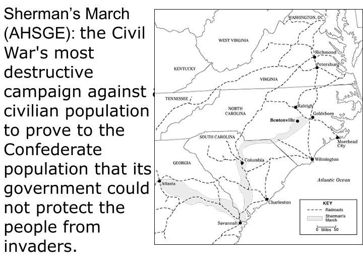 Sherman's March (AHSGE):