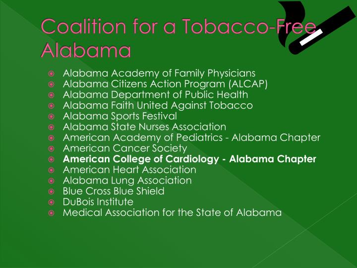Coalition for a Tobacco-Free Alabama