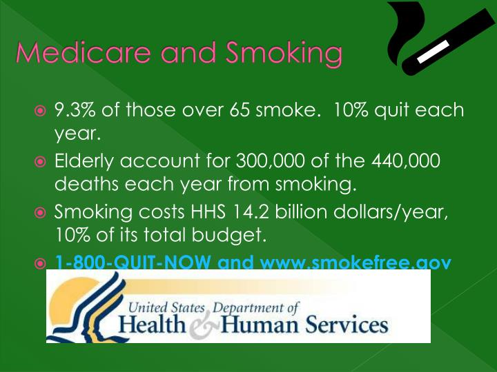 Medicare and Smoking