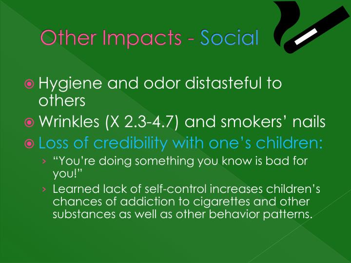 Other Impacts -
