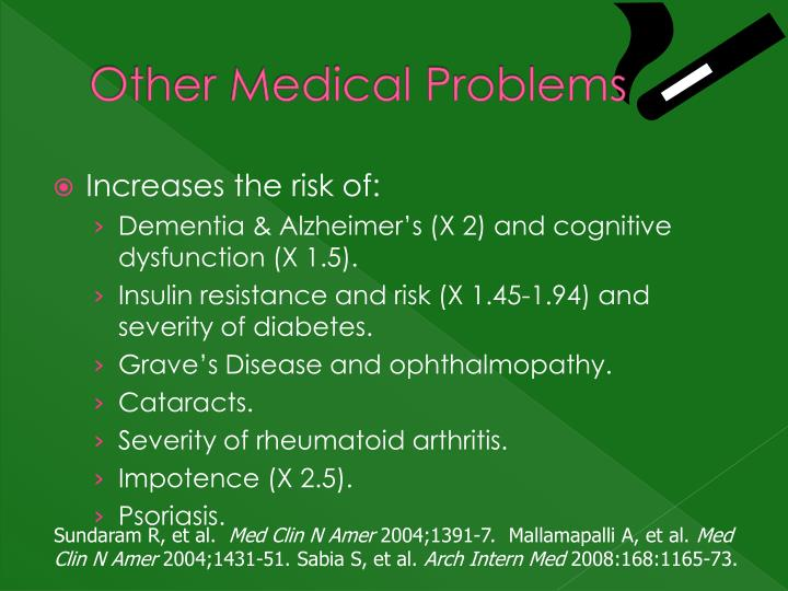 Other Medical Problems