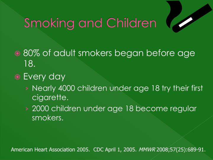 Smoking and Children