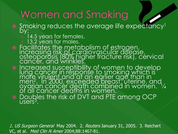 Women and Smoking