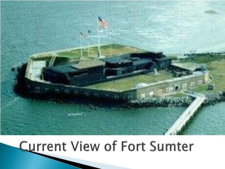 Current View of Fort Sumter