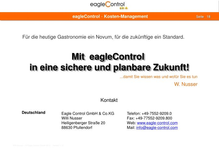 eagleControl