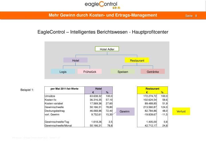 Mehr Gewinn durch Kosten- und Ertrags-Management