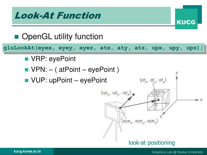 Look-At Function
