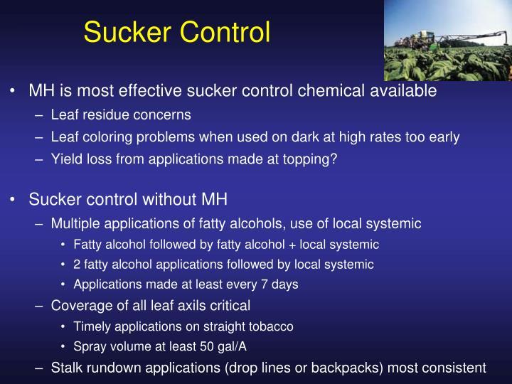 Sucker Control