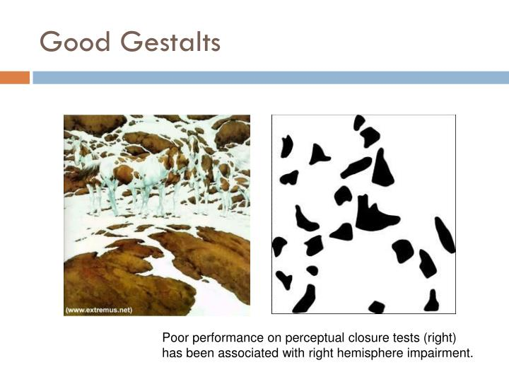 Good Gestalts