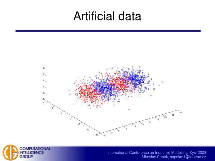 Artificial data