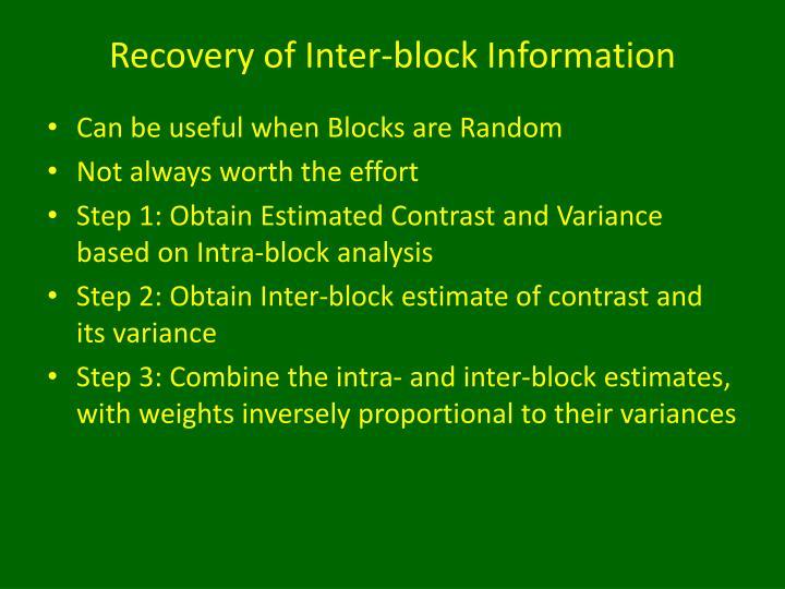 balanced incomplete block design pdf