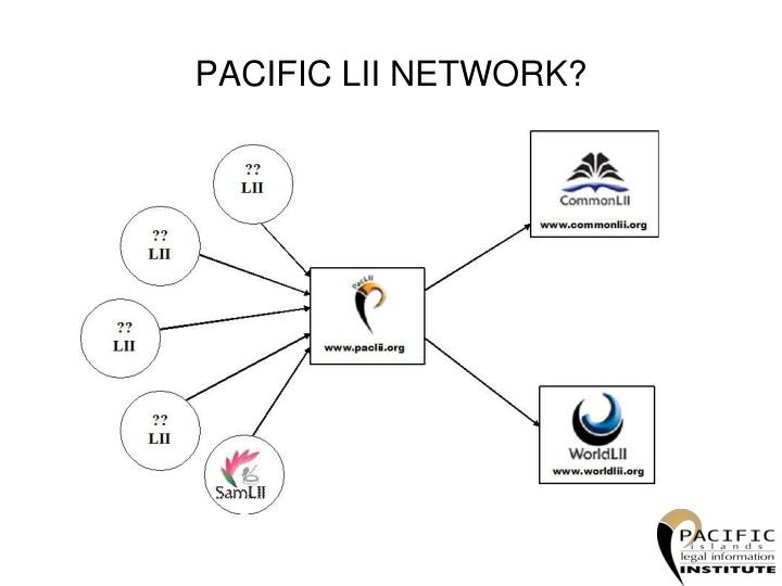 PACIFIC LII NETWORK?